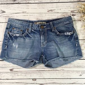 BKE Buckle Madison jean shorts
